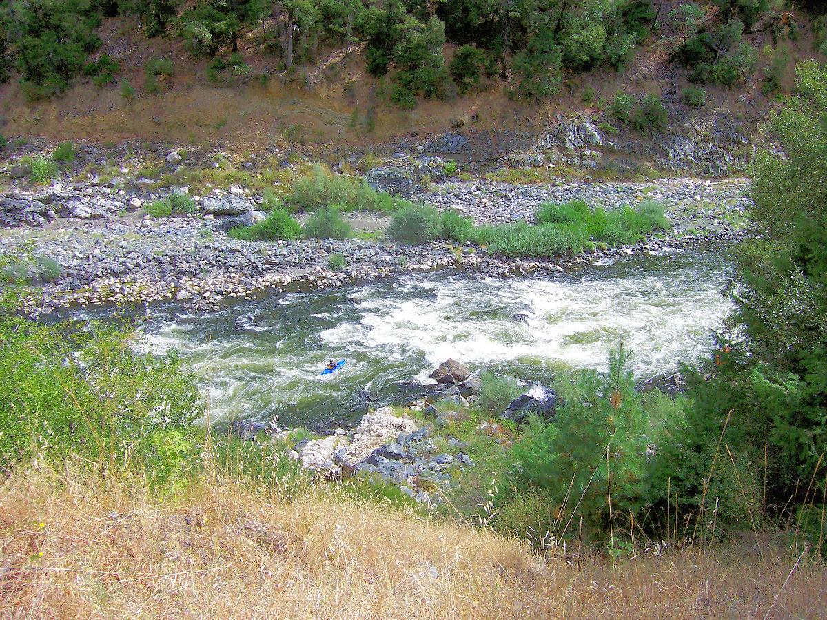 Klamath River south of Happy Camp, California